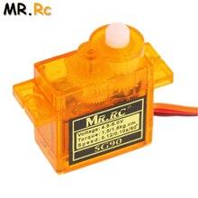10pcs lot New High Quality MR RC Plane Mini Gear Micro SG90 9g Servo For RC