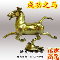 Crafts statue ornaments help the cause of feng shui to help transport official with a hero brass statue
