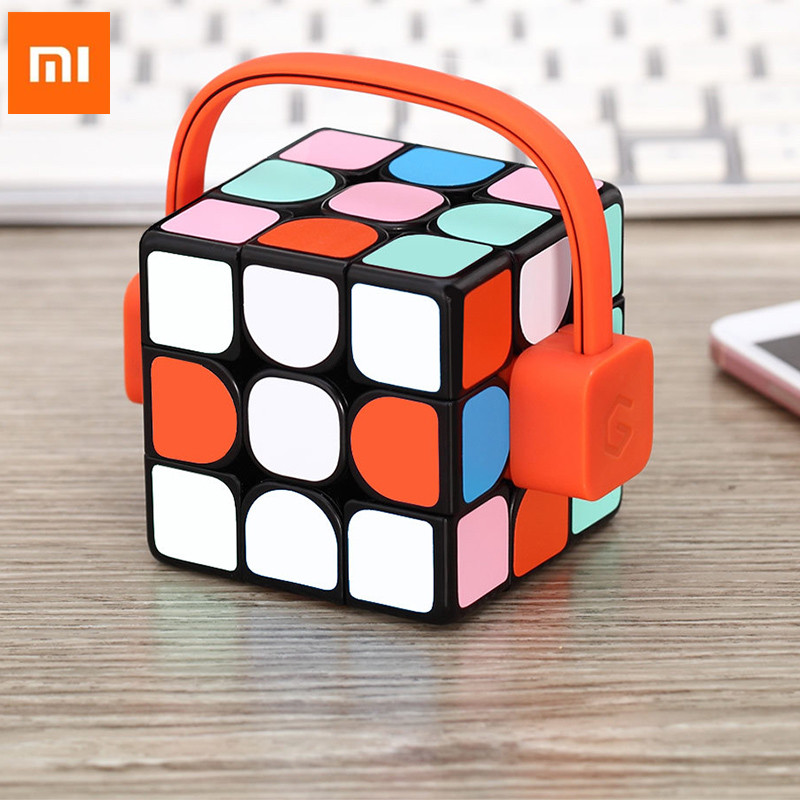 xiaomi mijia Giiker Super Smart Cube App remote comntrol Professional Magic Cube Puzzles Educational Toys For men women Boy H0#0