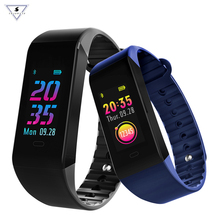 2018 Smart Clock w6 Fitness Bracelet Heart Rate Monitor 6 UI Face Band Watch Drinking Reminder Wristband For IOS Android Phone цены онлайн
