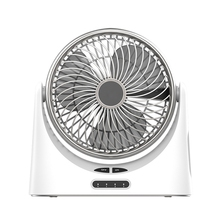 Usb Desk Fan Small Personal Air Circulator Fan Portable Electric Table Desktop Fan Rechargeable Travel Fans For Camping Office цена и фото