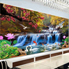 Zozack Landscape Painting Swan Fish Patterns Chinese Cross Stitch Kits DMC Needlework Embroidery Sets Cross Stitch