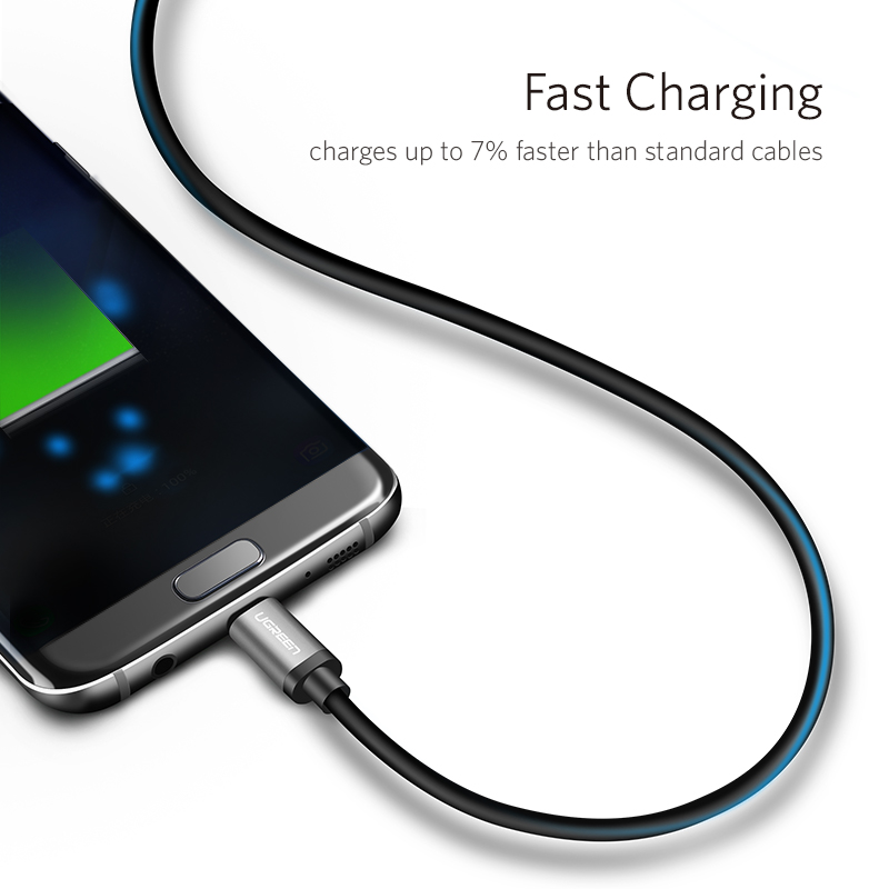 ugreen micro usb cable fast charging usb data cable android microusb charger cable for samsung. Black Bedroom Furniture Sets. Home Design Ideas