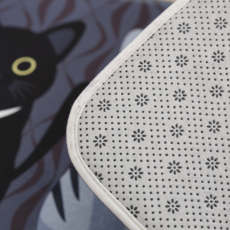 Cat Printed Floor Mats 4