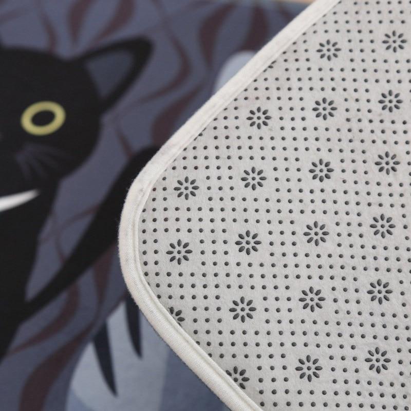 Cat Printed Floor Mats 4