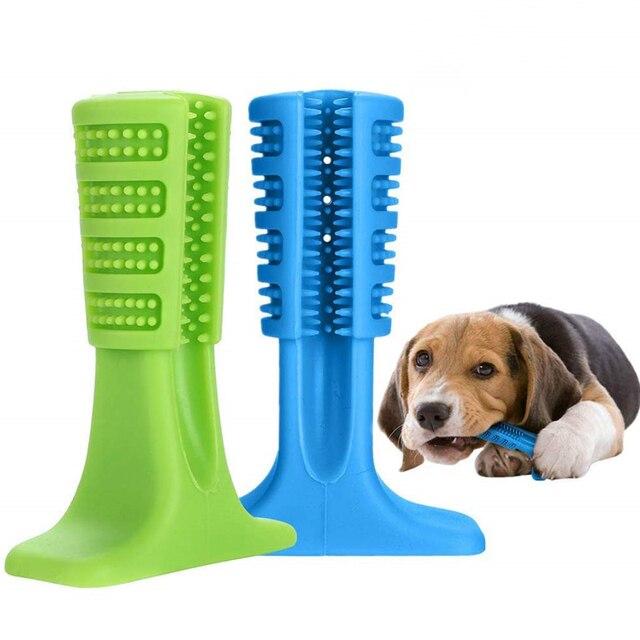 Cane Spazzolino Da Compagnia Giocattoli Animali Domestici Igiene orale Cane Spaz