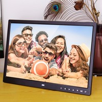 FS5 American Standard 15 Inch Photo Frame with Multimedia Playback Contemporary Design With Touch Button sep27