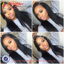 Unprocessed Brazilian Virgin Hair Full Lace Human Hair Wigs 7A Yaki Straight Glueless Lace Front Human Hair Wigs For Black Women