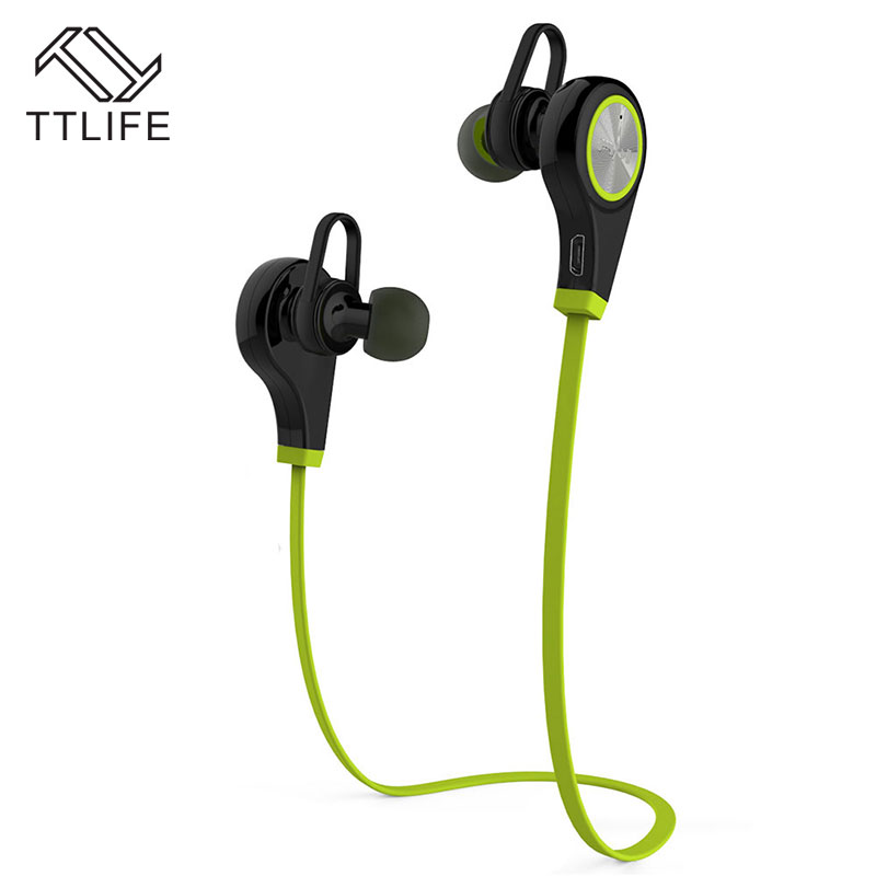TTLIFE Bluetooth Earphone Wireless Sports Headphones Headset Running Music Stereo Earbuds Handsfree with Mic for xiaomi Phones q2 mini bluetooth headset stereo wireless earphone headphones music car driver headset stealth earbuds mic with charging socket