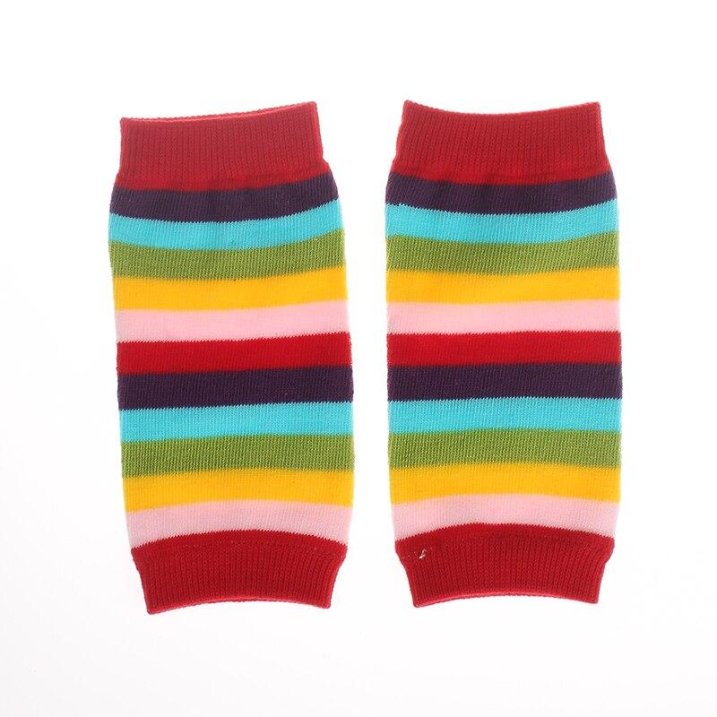 1 Pair striped Baby Knee Pad Kids Socks Leg Warmers Kneepad Protector leggings tights boys animal toddlers newborn Girls cartoon