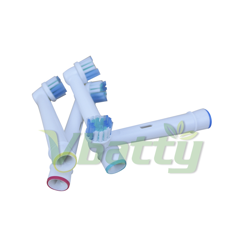 Replacement brush heads for oral-b electric toothbrush heads vitality ortho braun eb-10a D30,D32,D34,D36,D20,D16 image