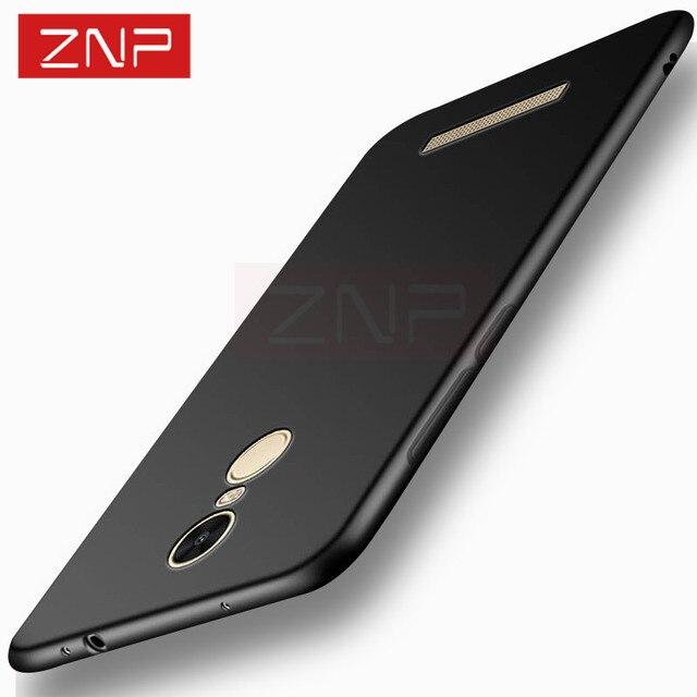 ZNP ультра тонкий высоко качества изделие чехол для Xiaomi Redmi Note 3 4 Матовая Мягкая обложка чехол для Xiaomi Redmi 4 16 ГБ Примечание 3 4 пакета(ов)
