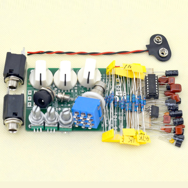 Online Shop Make Your Own Delay-1 Effect Pedal All Kits With 1590B ...