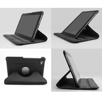 Rotating 360 PU Leather Case Cover For Samsung Galaxy Tablet P6810 P6800 High Quality Books Case