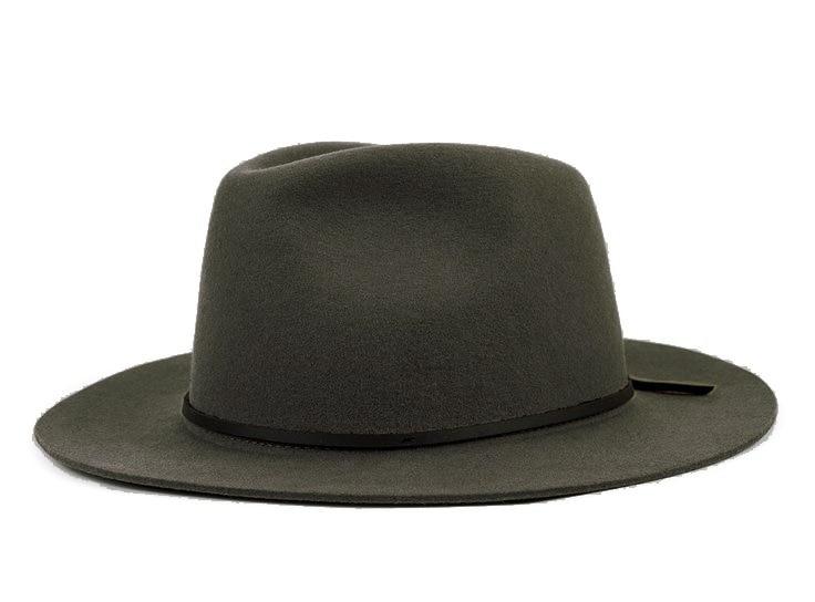 Модная шерсть Летняя женская мужская крученая натуральная Фетровая Шляпа Fedora Bush Sun Hat Trilby Gorra Toca Sombrero с кожаным ремешком - Цвет: Gray