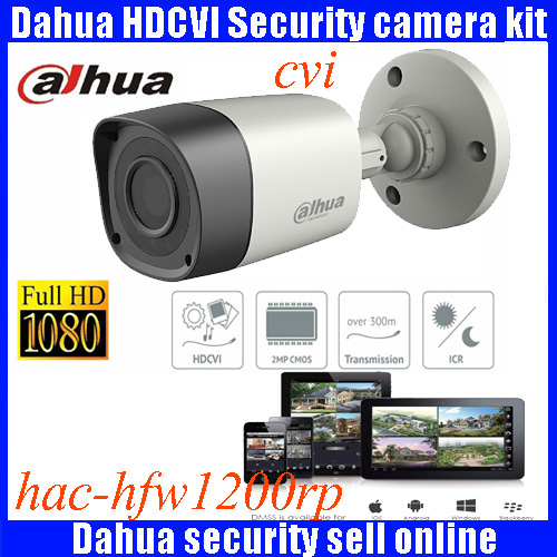 DAHUA HDCVI 1080P Bullet Camera 1/2.72Megapixel CMOS 1080P IR 20M IP67 HAC-HFW1200RMP security camera DH-HAC-HFW1200RMP camera dahua hdcvi 1080p bullet camera 1 2 72megapixel cmos 1080p ir 80m ip67 hac hfw1200d security camera dh hac hfw1200d camera