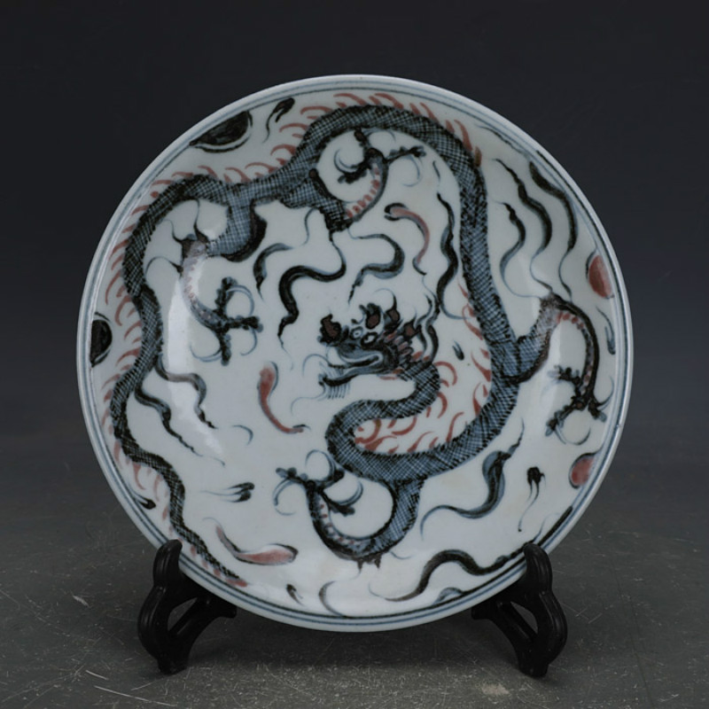 Ming Dynasty Hand Painted Dragon