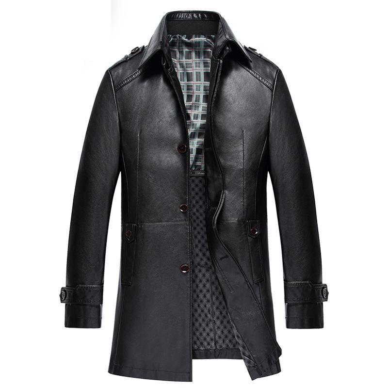 brown gray New style Chinese men/'s cashmere jacket//coat SZ M L XL 2XL 3XL