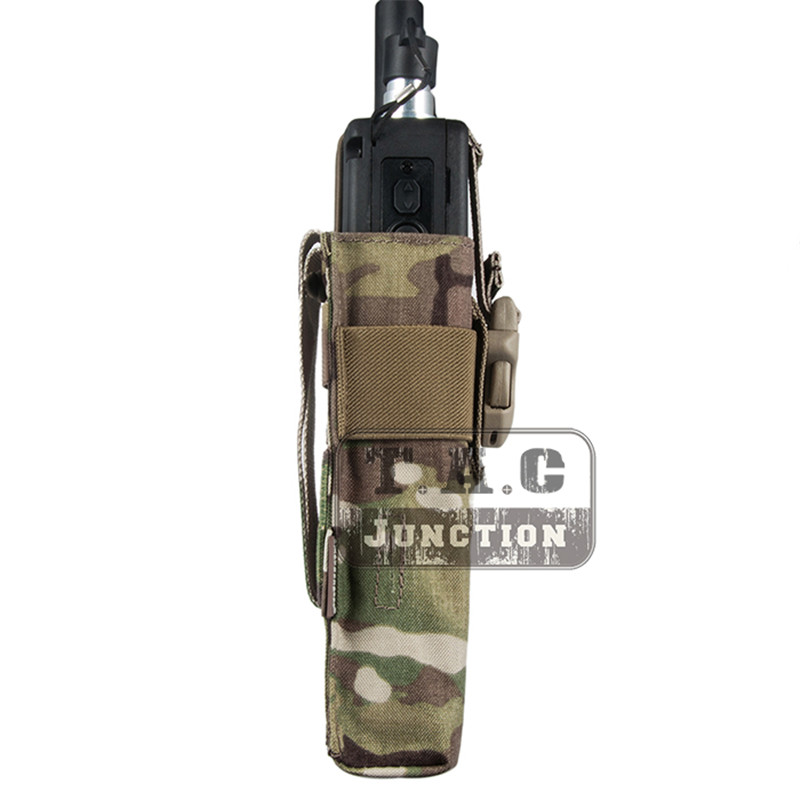 Image 2 - Emerson Tactical Radio Pouch for  MBITR PRC148 152 with Molle Strap EM8336 EMERSONGEAR MOLLE Radio Pouch for JPC,AVS.CPC Vest-in Pouches from Sports & Entertainment