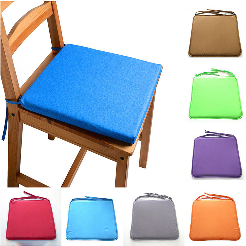 2019 Hot Sale Candy Colors Soft Chair Cushion Non Slip
