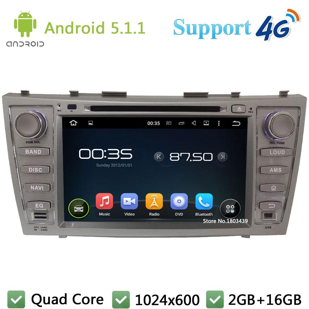 Quad Core 1024 600 8 Android 5 1 1 Car DVD multimedia Player font b Radio