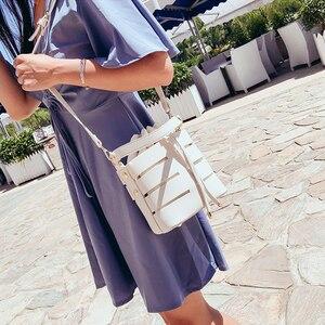 Image 4 - Briggs Mode Trekkoord Emmer Tas Voor Vrouwen 2020 Mini Pu Lederen Crossbody Tassen Dames Schoudertassen Vrouwelijke Handtassen Sac Belangrijkste