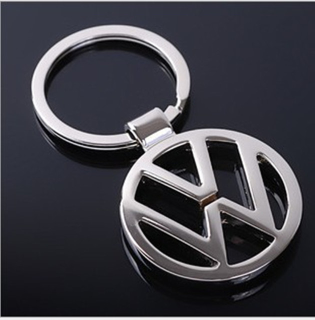 Great Fashion gift car-styling of decoration for Classic design of Metal Keychain Keyring for Volkswagen VW