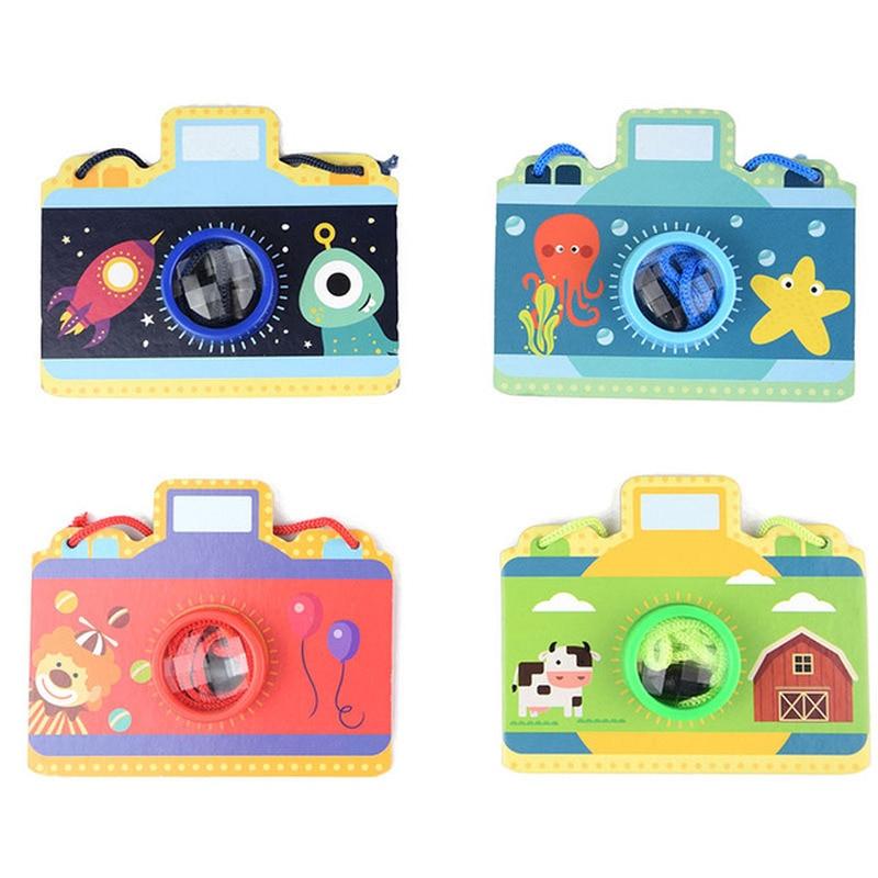 Cartoon Camera Kaleidoscope Multi Prism Variety Bee Eye Effect Toy Children's Day Children Toys Creative Children's Toy Camera