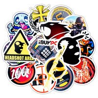 30 pcs Mixed  Graffiti Stickers for Bike Motorcycle Phone Laptop Travel Luggage for Guitars PVC Stickers Waterproof Car Stick