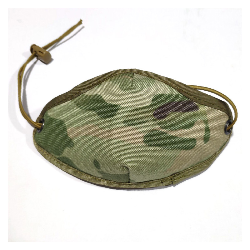 2019 New Kid Multicam Mask Anti-wind Warm Breathable Respirator MC Fabric Mask For Kids