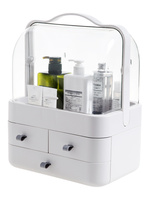 Home Storage & Organization of Drawer cosmetic storage box, plastic storage box, large desktop dressing table lipstick box