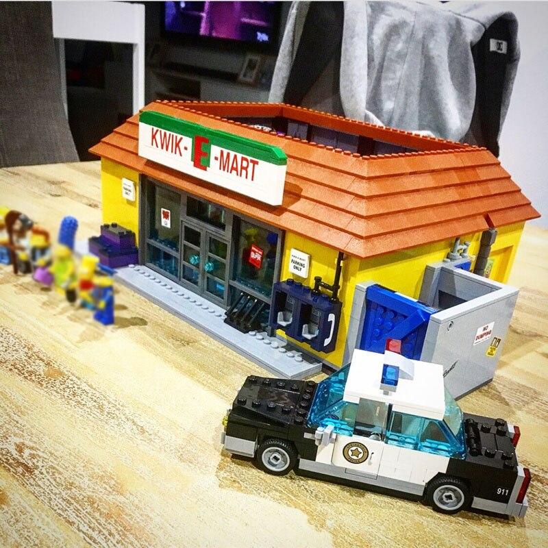 16004 2232 STUKS Compatibel 71016 Simpsons Kwik E Mart Sets Building Kits Actiefiguren Model Bakstenen Blokken Toys voor Kinderen-in Blokken van Speelgoed & Hobbies op  Groep 2