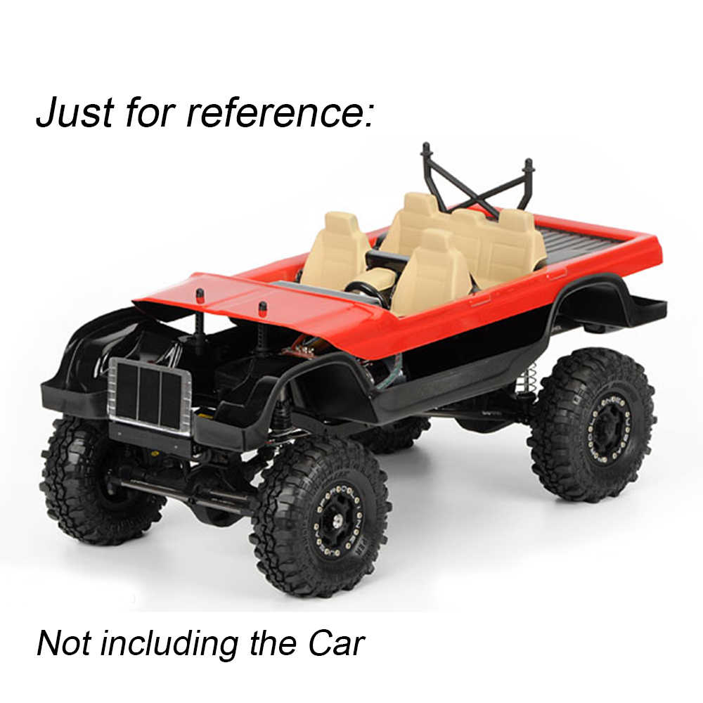 Injora RC автомобиль интерьера для 1/10 осевой SCX10 II 90046 90047 Traxxas TRX4 кузова автомобиля Shell