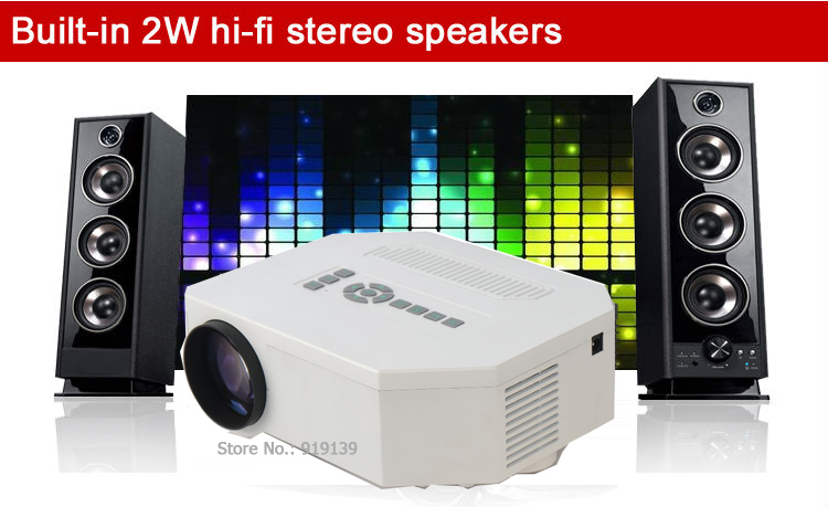 New Art 30 mini projector pic 15