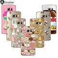 Пицца Для Коке iPhone 7 4 5C 5 5S 6 6 S 7 Плюс Случае Coque Для Samsung Galaxy S3 S5 S6 S7 Edge Grand Prime J3 J5 A3 A5 2016