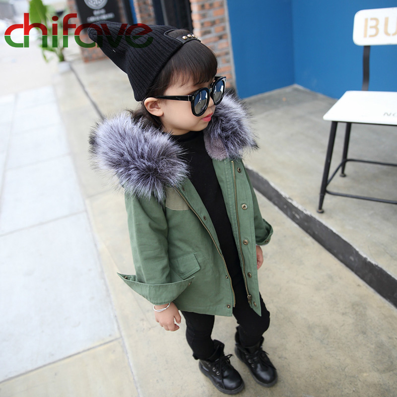 chifave-New-Winter-Children-Warm-Cotton-Coat-Suit-for-Unisex-Kids-Hooded-Fur-Collar-Zipper-Thick-Outerwear-Baby-Boys-Girls-Parka-1