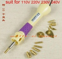 High Quality 10 In 1 Drilling Tool Diamond Paste Pen Gun Drill Brass Iron Electriciron Patchwork