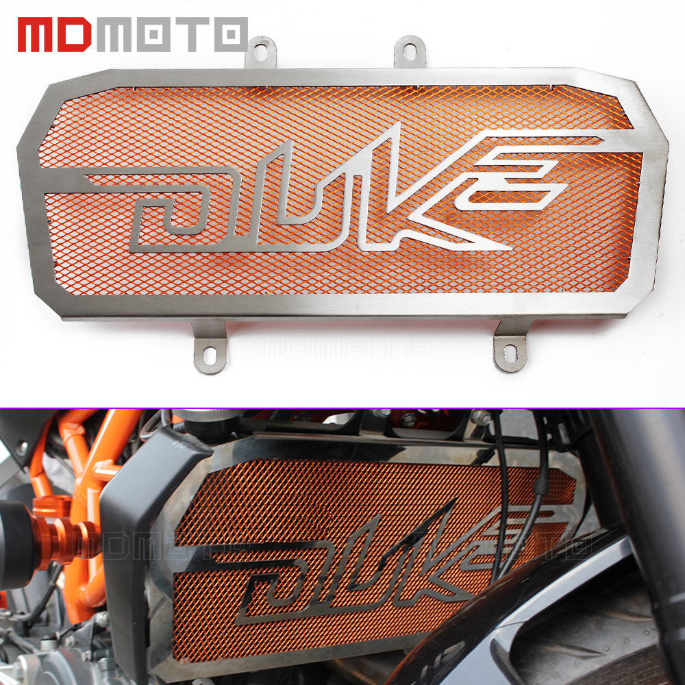 Motorcycle Radiator Guard Protector Grille Grill Cover For KTM duke 390 125 200 duke125 duke200 duke390 Radiator Protective Cove arashi motorcycle parts radiator grille protective cover grill guard protector for 2004 2005 2006 yamaha yzf r1
