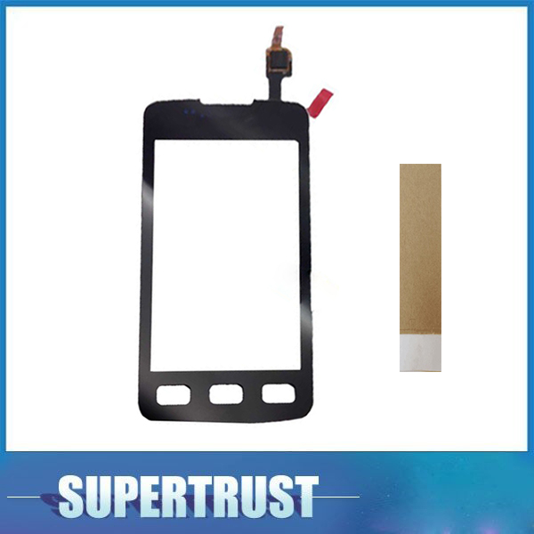 3.7For <font><b>Samsung</b></font> <font><b>Galaxy</b></font> Xcover S5690 GT-<font><b>S5</b></font> Touch Screen Panel Sensor Lens <font><b>Glass</b></font> Digitizer <font><b>Replacement</b></font> Black Color with tape image
