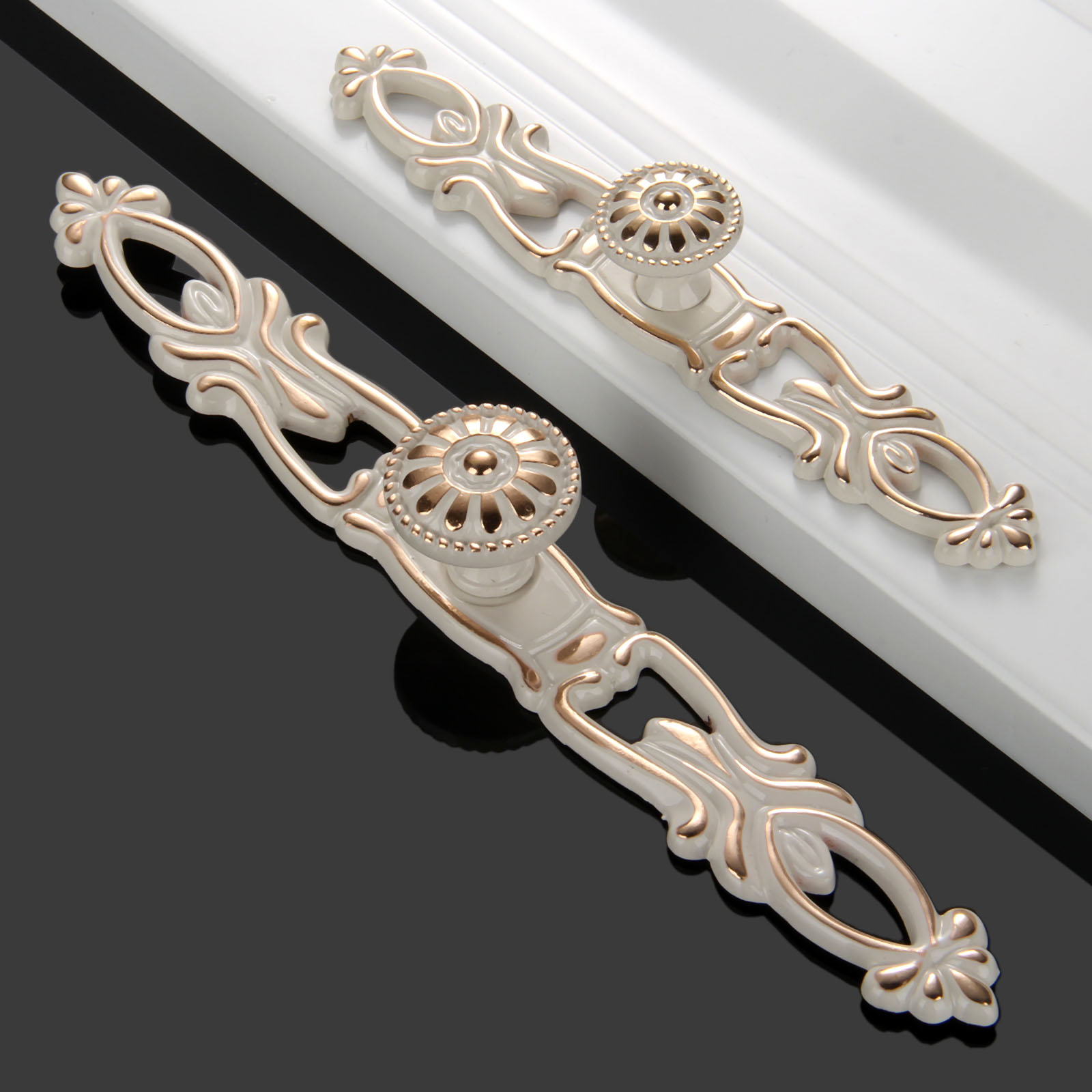 1Pc Furniture Handles Cabinet Knobs and Handles Zinc Alloy Door Knobs Cupboard Drawer Wardrobe Pull Handles Furniture Decoration 10 inch long cabinet handles and knobs drawer pull for furniture and cupboard simple wardrobe handle zinc alloy door handle