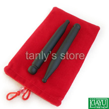 Wholesale and Retail Traditional Acupuncture Points Cone Face Eyes Beauty Ben Natural Bian-stone 124x13mm