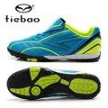 Niños de los niños zapatos de fútbol tf turf tiebao profesional suelas de zapatos zapatillas de deporte al aire libre niños niñas botas botines de fútbol