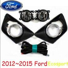 2012 2013 2014 2015year,Ecosport fog light,wire of harness,Ecosport halogen light,Free ship! Ecosport headlight, Ecosport,Kuga