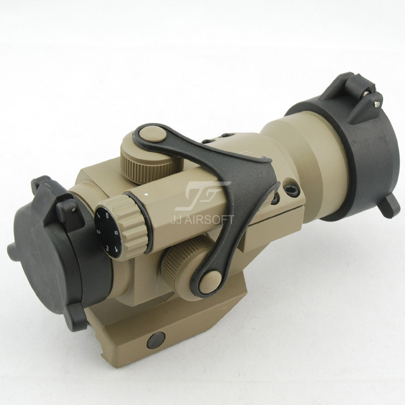 JJ Airsoft M2 Reddot w Cantilever Mount (Tan) FREE SHIPPING(ePacket/HongKong Post Air Mail) jj airsoft vsr10 vsr 10 metal
