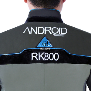 Image 5 - ROLECOS oyun Detroit olmak İnsan Cosplay kostümleri Connor RK800 takım elbise üniforma ceket gömlek kravat erkekler için parti Cosplay elbise