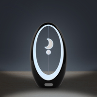 Creative Magnetic Lamp 3D Moon Lamp Luminaria Night Light USB Powered Levitation 3D Light Baby Kids Novelty Gifts Toy Home Decor