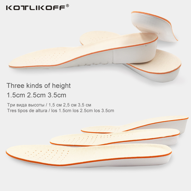 1 pair Height Increase Insole shoe sole EVA Men Women scholl insole  Adjustable Sports Shoes Pad shoe inserts shoes accessories