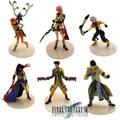 6 x Final Fantasy XII Vaan/Fran/Bathier/Cloud PVC Figure Set
