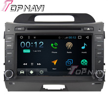 Topnavi 8″ Quad Core 16G Android 6.0 Car DVD Multimedia Player for KIA Sportage R Autoradio GPS Navigation Audio Stereo