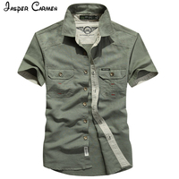 2017 AFS JEPP Preppy Style Autumn Hot Sale Solid Men S Shirts Fashion Casual Short Sleeve